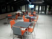 Realizacja sali kawiarnianej w Krakowie