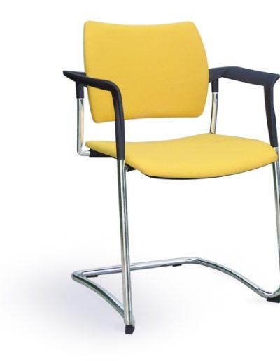 krzeslo-biurowe-konferencyjne-profim-dream-570v-chrom-2p