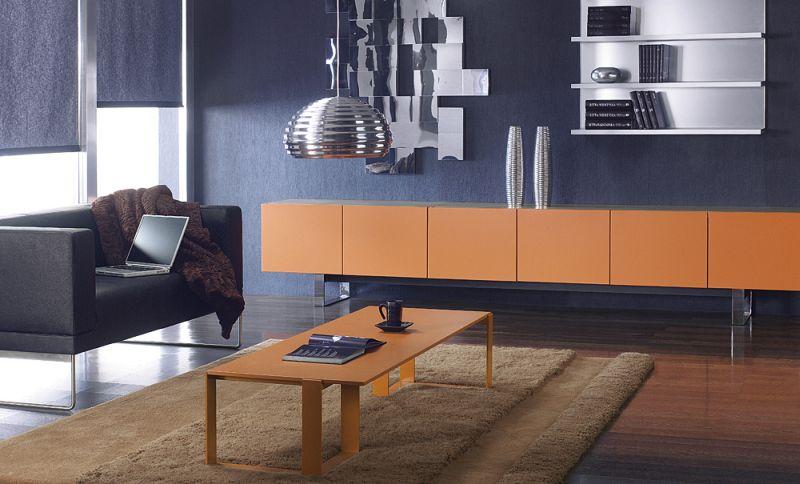 mixt-stolik-lakierowany-na-kolor-rudy-03k06-szafki-z-drzwiami-lakierowane-06k07-na-plozie-chromowanej-14k06-polki-wiszace-szklo-satinato-06k21