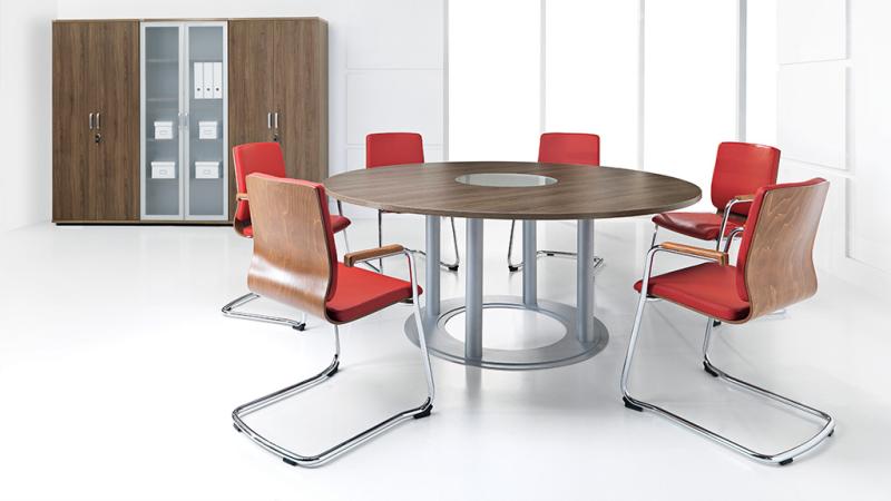 okrągły stół konferencyjny