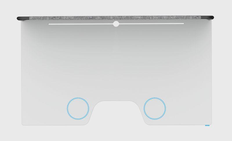 ergonomiczny blat biurka z powłoką bakteriobójczą chory kręgosłup