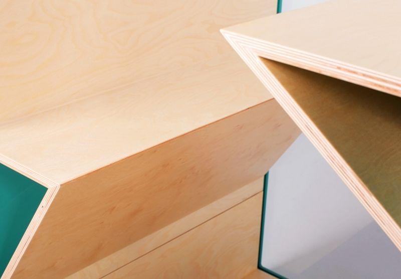 kabina akustyczna do biura sklejkowe siedzisko