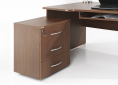 HEBE-meble-biurowe-biurko-profilowne-oslona-biurkowa-kontener-szuflada-na-klawiaturę