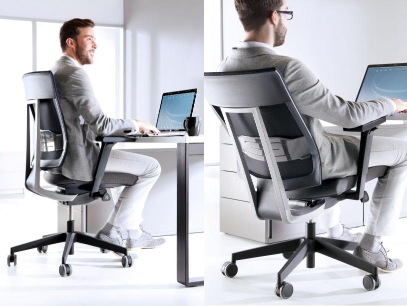 Fotele biurowe dobre na kręgosłup