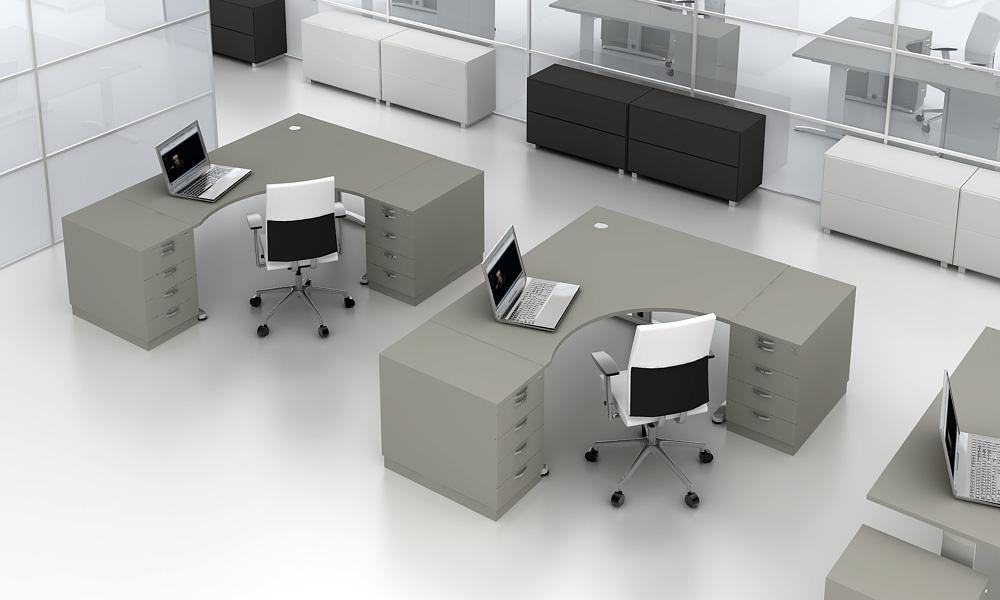 Biurka narożne biurowe
