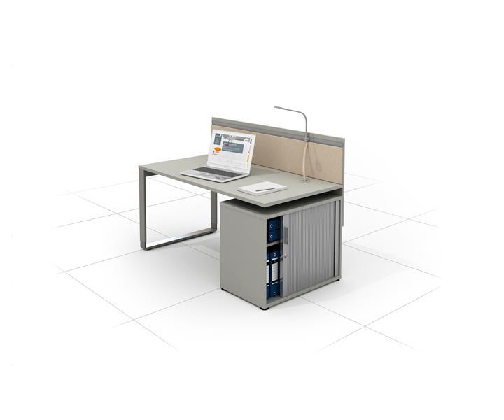biurko do biura z kontenerem