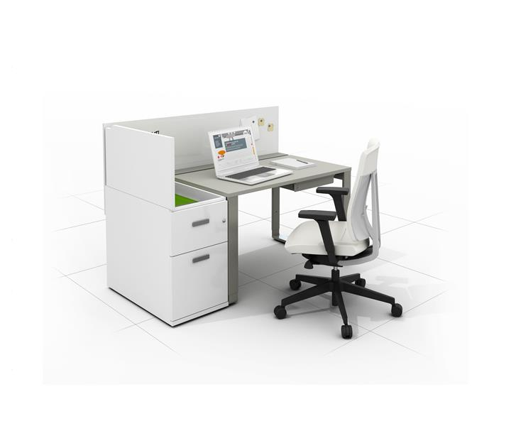 biurko ergonomiczne z szufladami