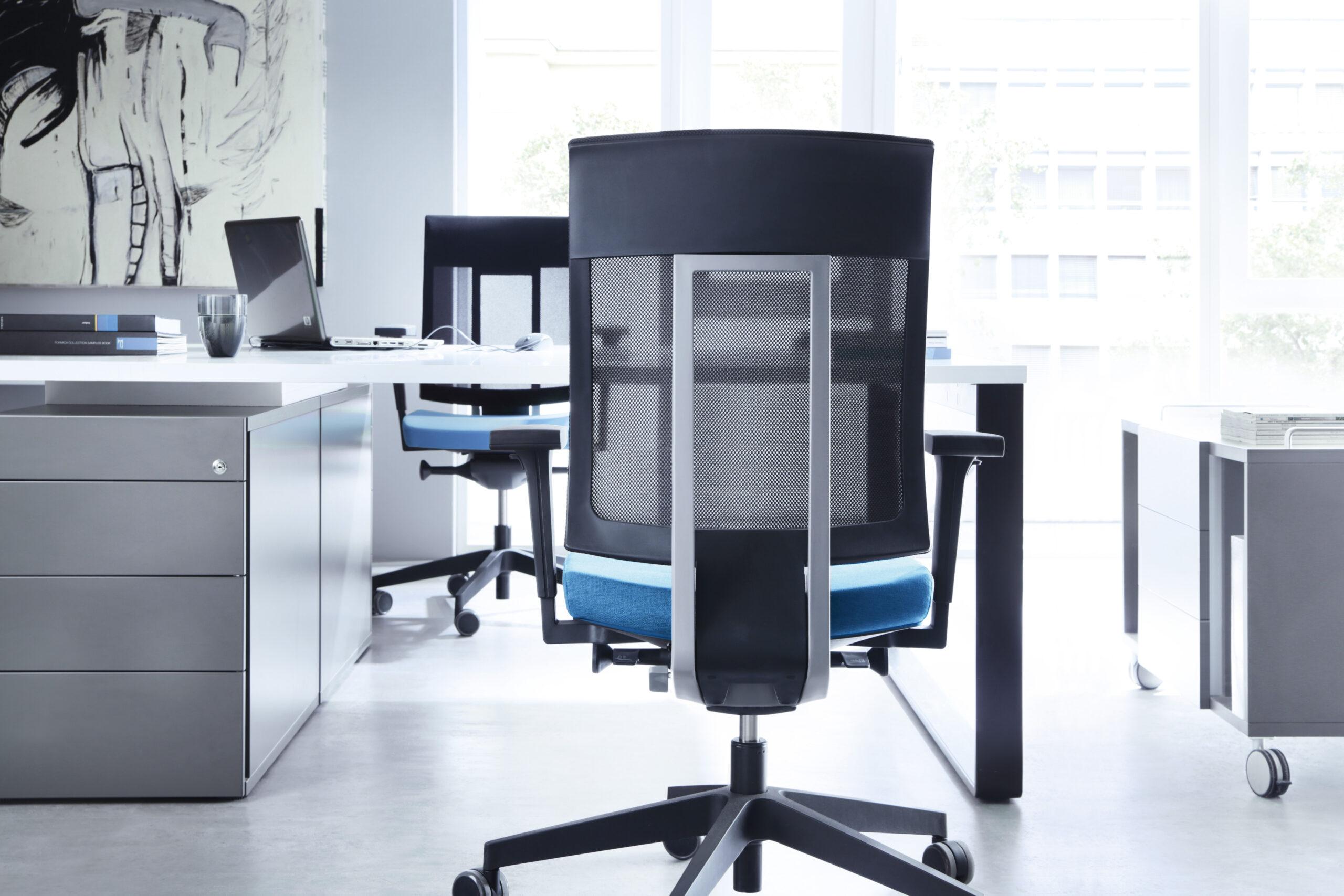 Obrotowe krzesła biurowe