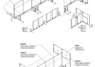 ścianki biurowe mdd