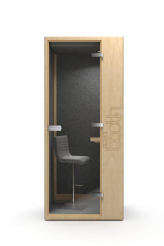 nowoczesne biuro kabina akustyczna budka telefoniczna do biura
