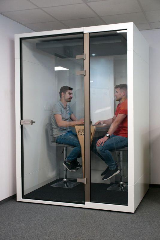 budka 2 osobowa kabina akustyczna do biura