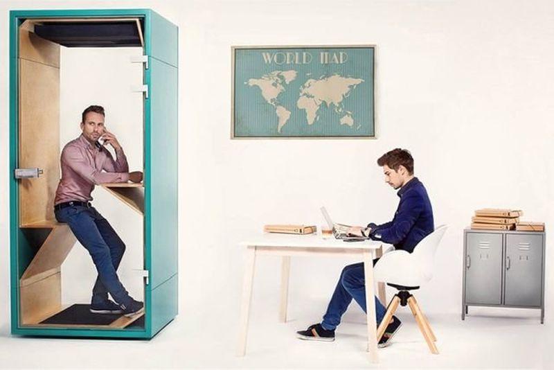budka telefoniczna do biura praca w ciszy akustyka w biurze