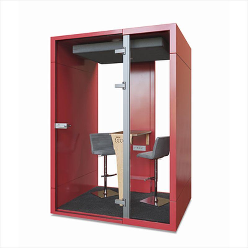 kabiny akustyczne - budka telefoniczna M czerwona